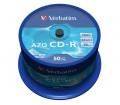 Verbatim CD-R AZO Crystal 50 db