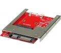 "Roline mSATA SSD / SATA 2,5"" 22 tűs adapter"