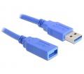 Delock USB 3.0 hosszabbító 1m