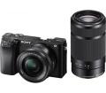 Sony α6100 16-50mm + 55-210mm fekete kit