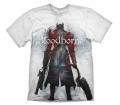 "Bloodborne ""Hunter Street"" fehér póló XL"