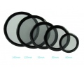 DEMCIFLEX Porszűrő kerek 200mm Fekete/Fekete
