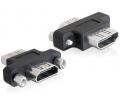 Delock HDMI-A anya > A anya adapter