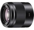 Sony E 50mm F1.8 OSS fekete