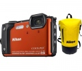 Nikon COOLPIX W300 Holiday Kit narancs