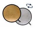 Lastolite derítőlap 1.2m ezüst/arany