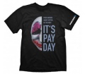 "Payday 2 T-Shirt ""Hoxton Mask"", L"