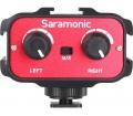 Saramonic SR-AX100 kétcsatorn. mikrofon előerősítő
