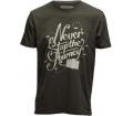 Cooph férfi póló Never Stop sötét katonai XL
