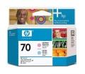 HP 70 világosbíbor és világos ciánkék nyomtatófej