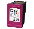 HP 651 háromszínű