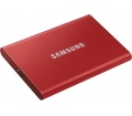Samsung T7 SSD 500GB piros