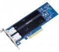 Synology E10G18-T2 2 portos 10GbE bővítőkártya
