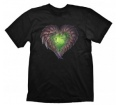 "Starcraft 2 T-Shirt ""Zerg Heart"", XL"