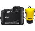 Nikon COOLPIX W300 Holiday Kit fekete