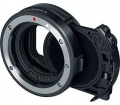 Canon Drop-In filter Mount Adapter + VND Filter