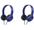 Panasonic RP-HF100E-A Fülhallgató Kék